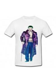Tricou Jared leto Joker costume alb