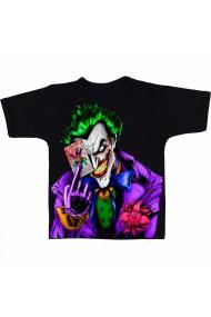 Tricou Joker with a card negru