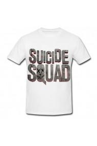 Tricou Suicide squad alb