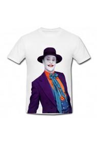 Tricou Jack Nicholson Joker alb