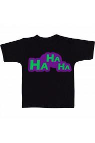 Tricou HaHaHa negru