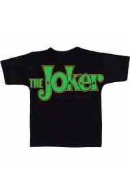 Tricou Joker text negru