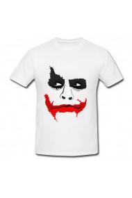 Tricou Tatuaj Joker alb