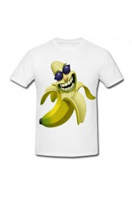 Tricou Banana cool alb