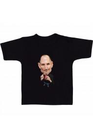 Tricou Steve Jobs meme negru