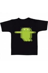 Tricou Android vibration negru
