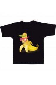 Tricou Banana, la soare negru