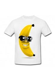 Tricou Banana cool 2 alb