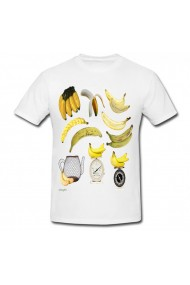 Tricou Cooking banana alb