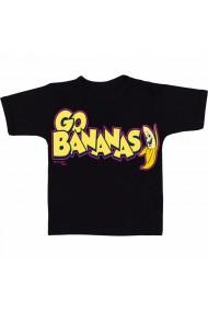Tricou Go Bananas negru