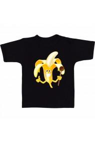 Tricou Banana milkshake negru