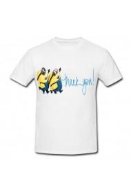 Tricou Minion - thank you alb