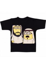 Tricou Minioni musulmani negru