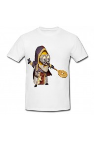 Tricou Bob minion rush alb