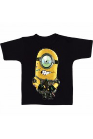Tricou Minions paintball negru