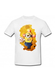 Tricou Minion jokes about school alb