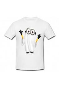 Tricou Minion - fantoma alb