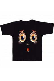 Tricou Surprins negru