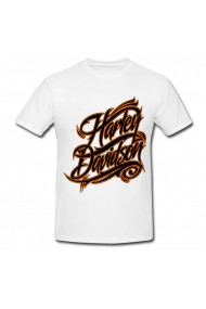 Tricou Harley-Davidson alb