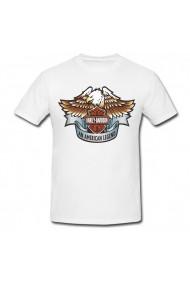 Tricou Harley-Davidson Chlotes alb