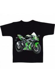 Tricou Kawasaki ninja bike negru