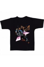Tricou Marvel motorcycle negru