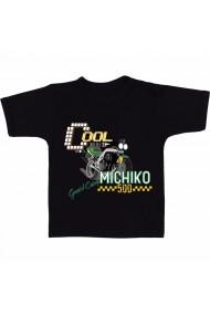 Tricou Michiko negru