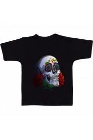 Tricou The dead skull negru