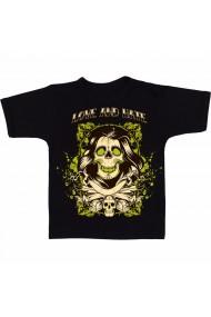 Tricou Skeleton negru