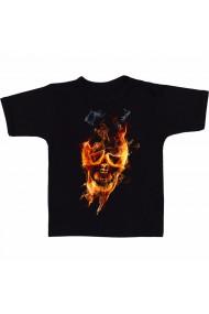 Tricou Fire head negru