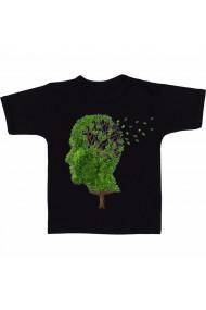 Tricou Creierul Alzheimer negru