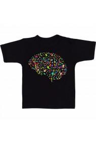Tricou Creier uman 2 negru