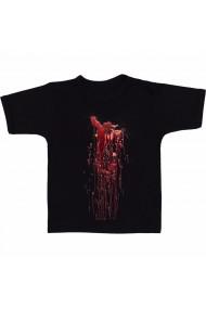 Tricou Urma de sange negru