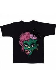 Tricou Zombiefy on Behance negru