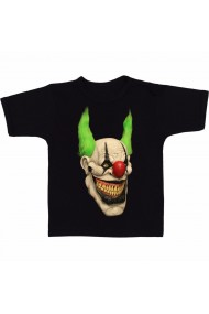 Tricou Creepy clown negru
