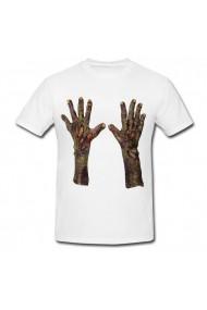 Tricou Maini zombi alb
