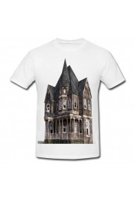 Tricou The House on Foster Hill alb