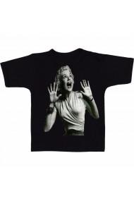 Tricou Marilyn Monroe screaming negru