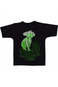 Tricou Vulpe toxica negru