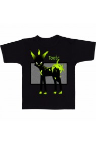 Tricou Ekor toxic negru