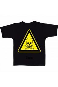 Tricou Simbol toxic negru