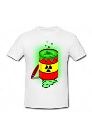 Tricou Nuclear toxic alb