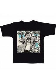 Tricou Pablo Escobar - Narcos negru