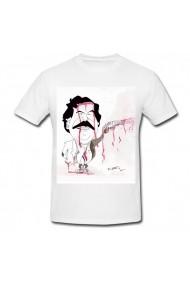 Tricou Pablo Escobar cartoon alb