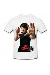 Tricou Jackie Chan alb