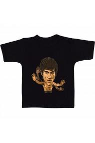 Tricou Bruce Lee animated negru