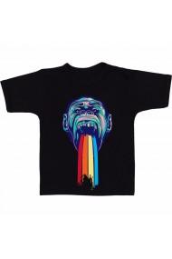 Tricou Gorilla head negru
