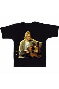 Tricou Kurt Cobain negru