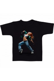 Tricou Lyrical hip hop dance negru