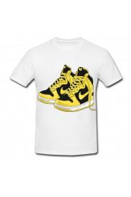 Tricou Nike Shoe alb